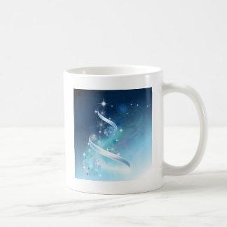 Elegant Christmas Tree with robins Coffee Mugs