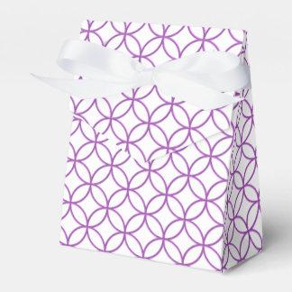 Elegant Circles and Diamonds Favor Box Wedding Favour Boxes