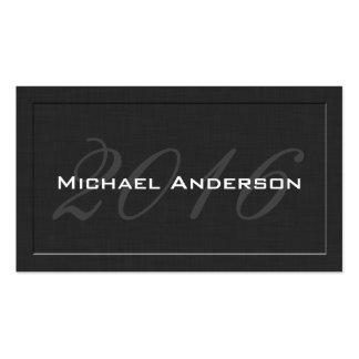 Elegant Classic Senior Class Graduation Name Card Pack Of Standard Business Cards