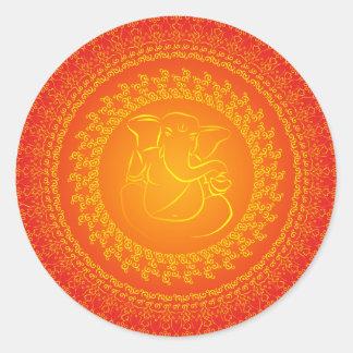Elegant Classy Ganesh/ Indian God Sticker