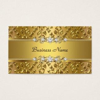Elegant Classy Gold Damask Embossed Image