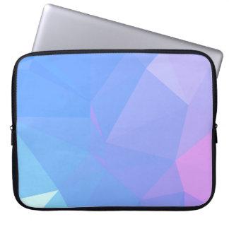 Elegant & Clean Geometric Designs - Bloom Season Laptop Sleeve