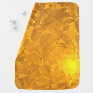 Elegant & Clean Geometric Designs - Citrine Deep Baby Blanket