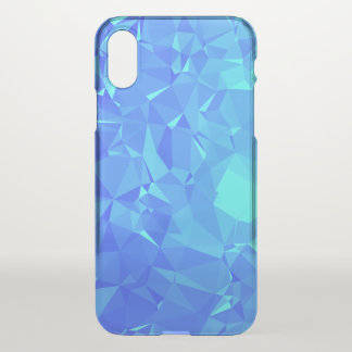 Elegant & Clean Geometric Designs - Glacier Point iPhone X Case