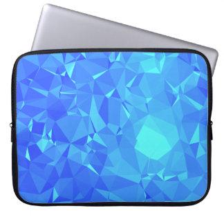 Elegant & Clean Geometric Designs - Glacier Point Laptop Sleeve