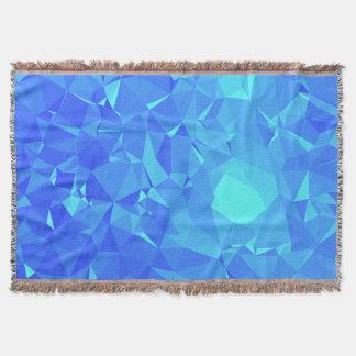 Elegant & Clean Geometric Designs - Glacier Point Throw Blanket
