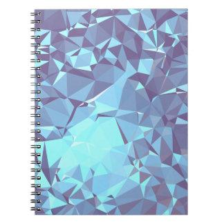 Elegant & Clean Geometric Designs - Pigeon Skyward Notebooks