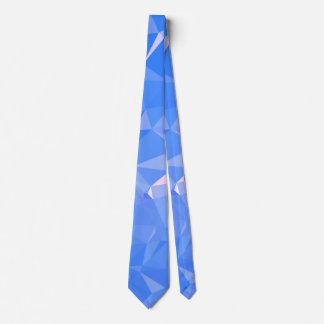Elegant & Clean Geometric Designs - Sapphire Cool Tie