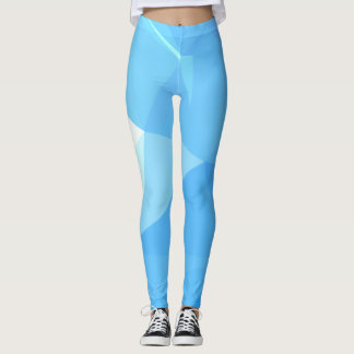 Elegant & Clean Geometric Designs - Seagull Nature Leggings