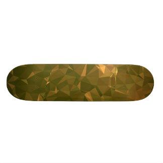 Elegant & Clean Geometric Designs - Sparkle Geode Custom Skateboard