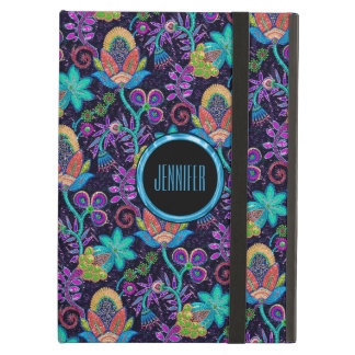 Elegant Colorful Glass Beads Floral Design 2a Cover For iPad Air