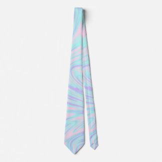 elegant colorful pink blue purple white marble tie