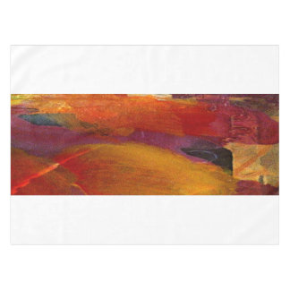 Elegant Colorful Red Abstract Art Burgundy Tablecloth