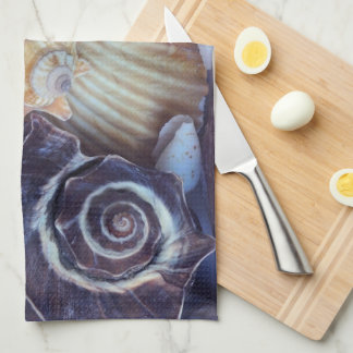 Elegant Companions Seashell Medley Tea Towel