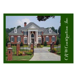Elegant Construction /  Real Estate Business Card