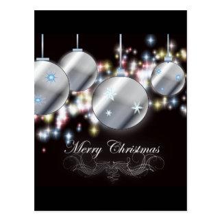 Elegant Corporate Holiday Greeting Post Card