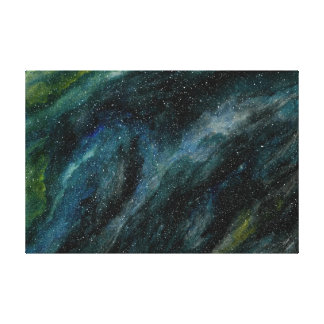 Elegant Cosmos Watercolor Fine Art Mason Ingrassia Canvas Print