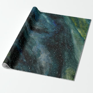 Elegant Cosmos Watercolor Fine Art Mason Ingrassia Wrapping Paper