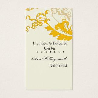 Elegant  Creative Stylish Floral Business Card
