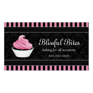 Elegant Cupcake Bakery Business Cards