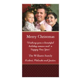 Elegant Custom Christmas Photo Card