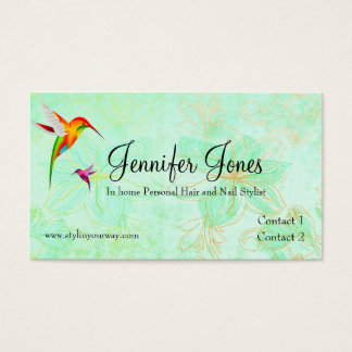 Elegant Custom Loyalty Business Card