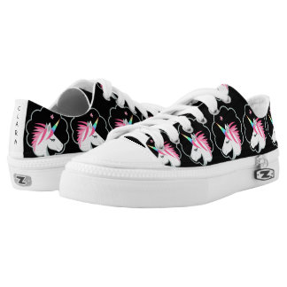 elegant cute unicorns emoji low tops