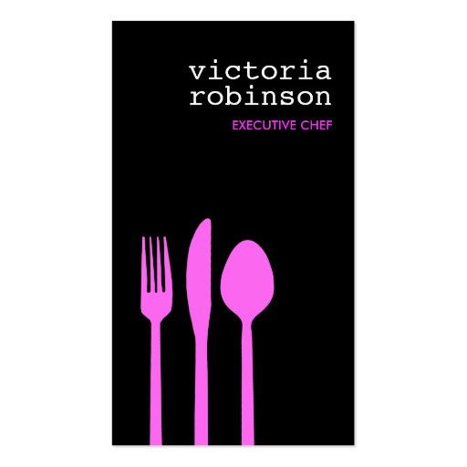Elegant Cutlery Business Card