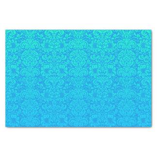 Elegant Damask (Blue and Green) Tissue Paper