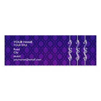 Elegant Damask Business Card