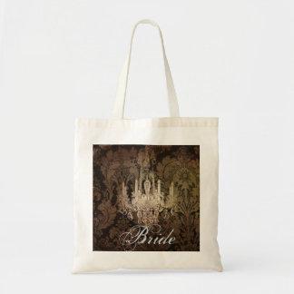 elegant damask chandelier vintage wedding bags