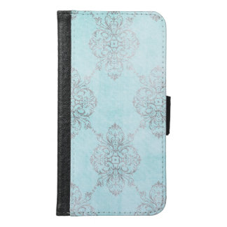 Elegant Damask Design Samsung Galaxy S6 Wallet Case