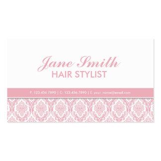 Elegant Damask Floral Modern Professional Stylish Pack Of Standard Business Cards