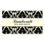 Elegant Damask Floral Pattern Cream Modern Stylish Pack Of Standard Business Cards