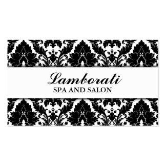 Elegant Damask Floral Pattern Modern Stylish Business Cards
