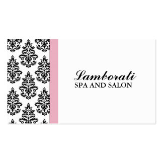 Elegant Damask Floral Wedding Planner Stylist Pack Of Standard Business Cards