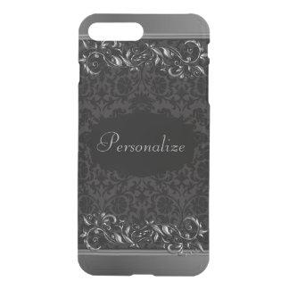 Elegant Damask Metallic Accents iPhone 8 Plus/7 Plus Case