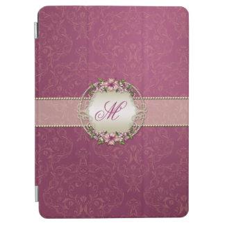 Elegant Damask Monogram iPad Air Cover