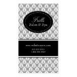 Elegant Damask Salon Business Cards Business Cards