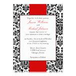 Elegant Damask Wedding Custom Invitations
