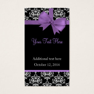 Elegant Damask Wedding Gift Tags