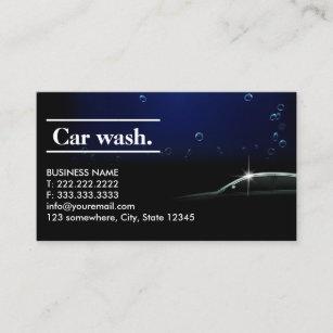 Mobile Car Wash Business Cards Zazzle Au