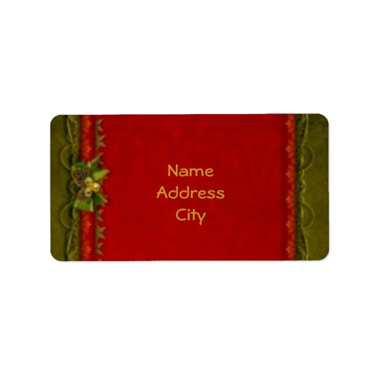Elegant Deco Address Label