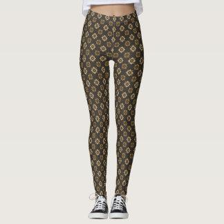 Elegant Deco Pattern Leggings