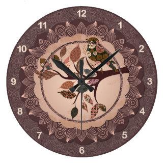 Elegant Decorative Bird Wall Clock