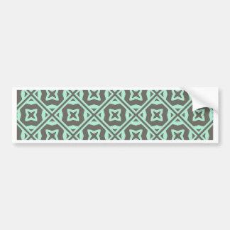 Elegant Decorative Pattern Bumper Stickers