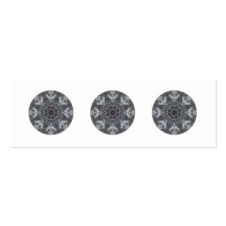 Elegant Decorative Round Pattern Custom Business Card Template