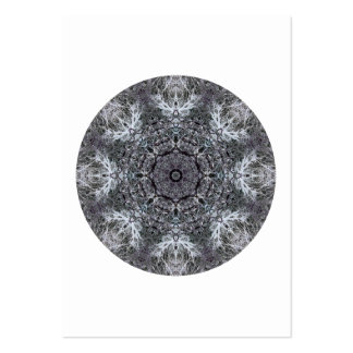 Elegant Decorative Round Pattern. Custom Business Cards