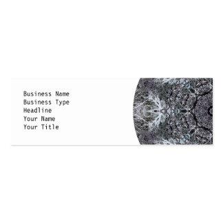 Elegant Decorative Round Pattern. Custom Business Card