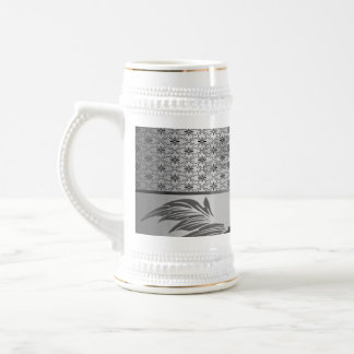 Elegant, decorative surf design mugs